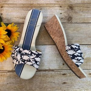 Sperry cork wedges. Size 10